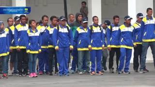 Video 161012 Apel Pagi dirangkaikan pelepasan Atlet Kota Bandung untuk Pekan Paralympic Nasional PEPARNAS download MP3, 3GP, MP4, WEBM, AVI, FLV Oktober 2018