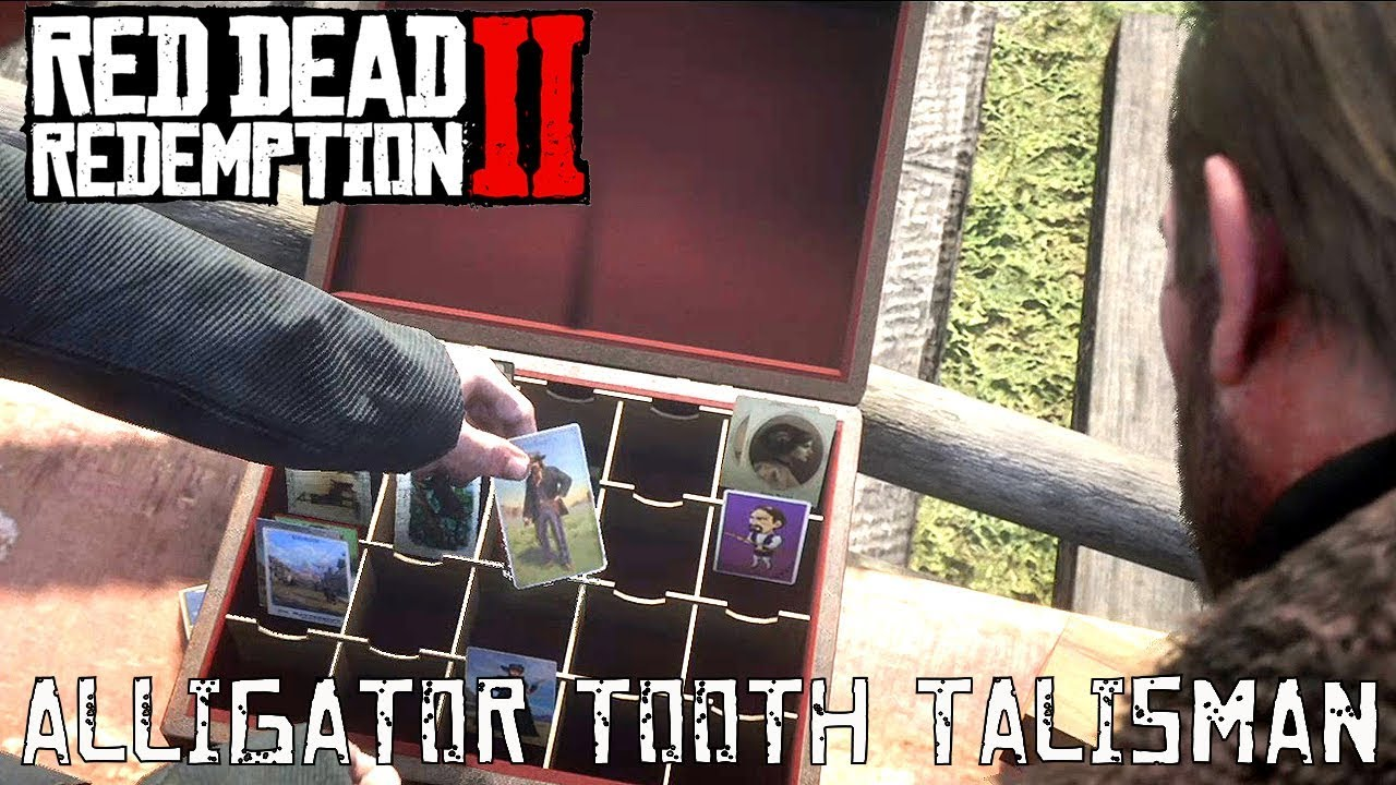 Red Dead Redemption 2: Talismans Guide - Crafting Materials