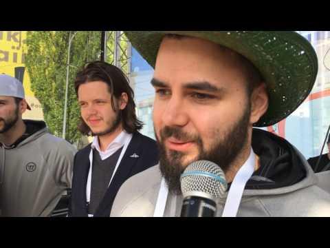 Szurkolói köszöntés 2017 Kijev
