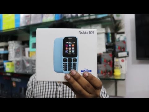2017 Best Feature Phone ? Nokia 105 DS Unboxing   Review