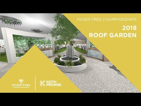 Roof Garden CGI Hospitality at the 2018 Fever-Tree Championships