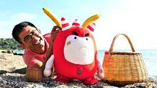 Oddbods Fuse ile denizde piknik yapıyoruz