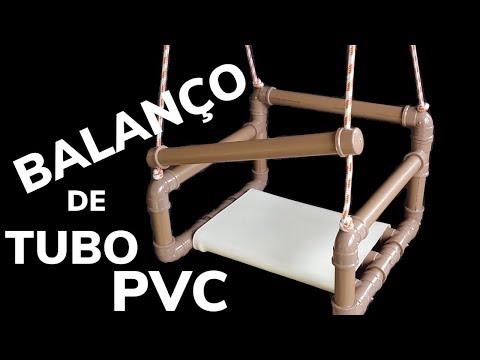 BALANÇO FEITO COM TUBO DE PVC, SAIBA COMO FAZER UMA BALAÇO COM CANO DE PVC