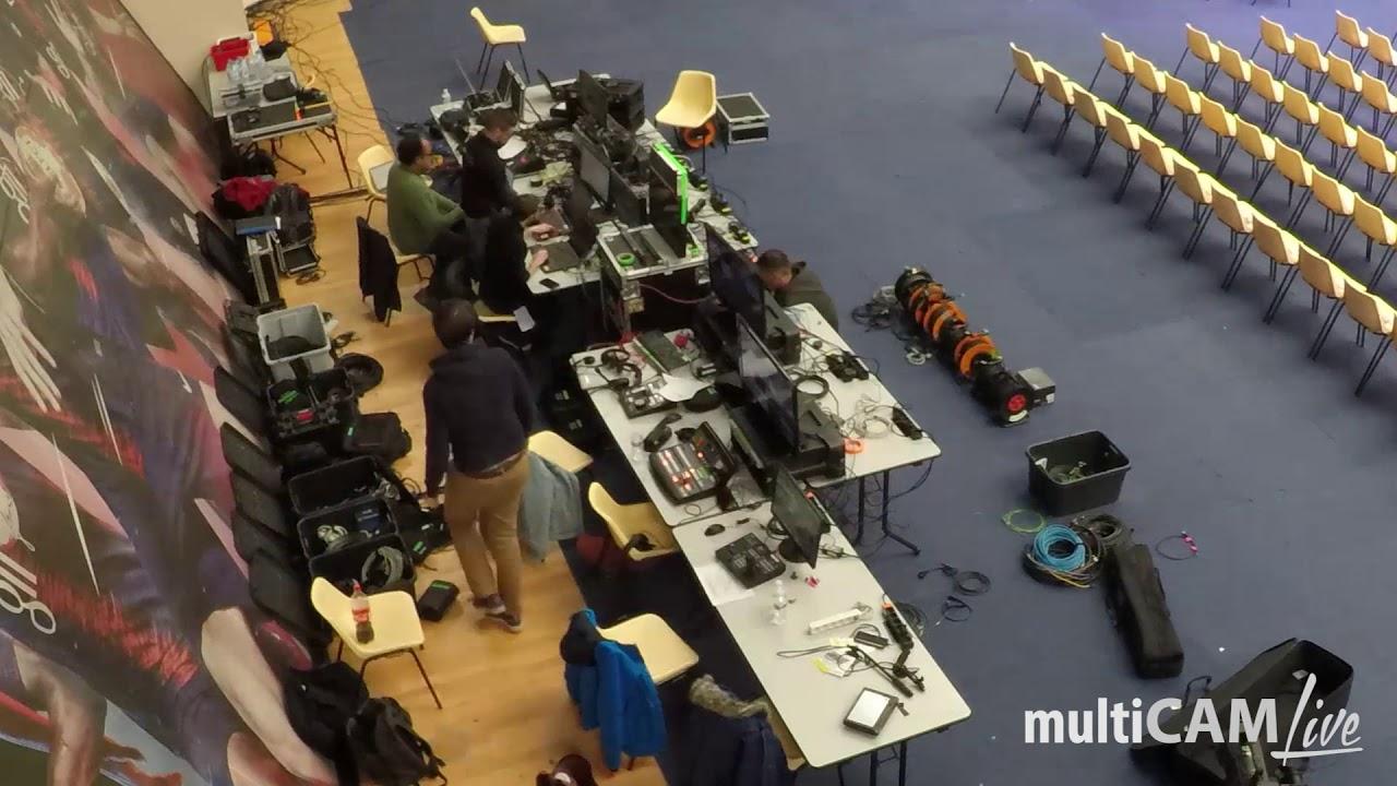 Multicam Live - Time Lapse - Championnat de France de Savate 80325