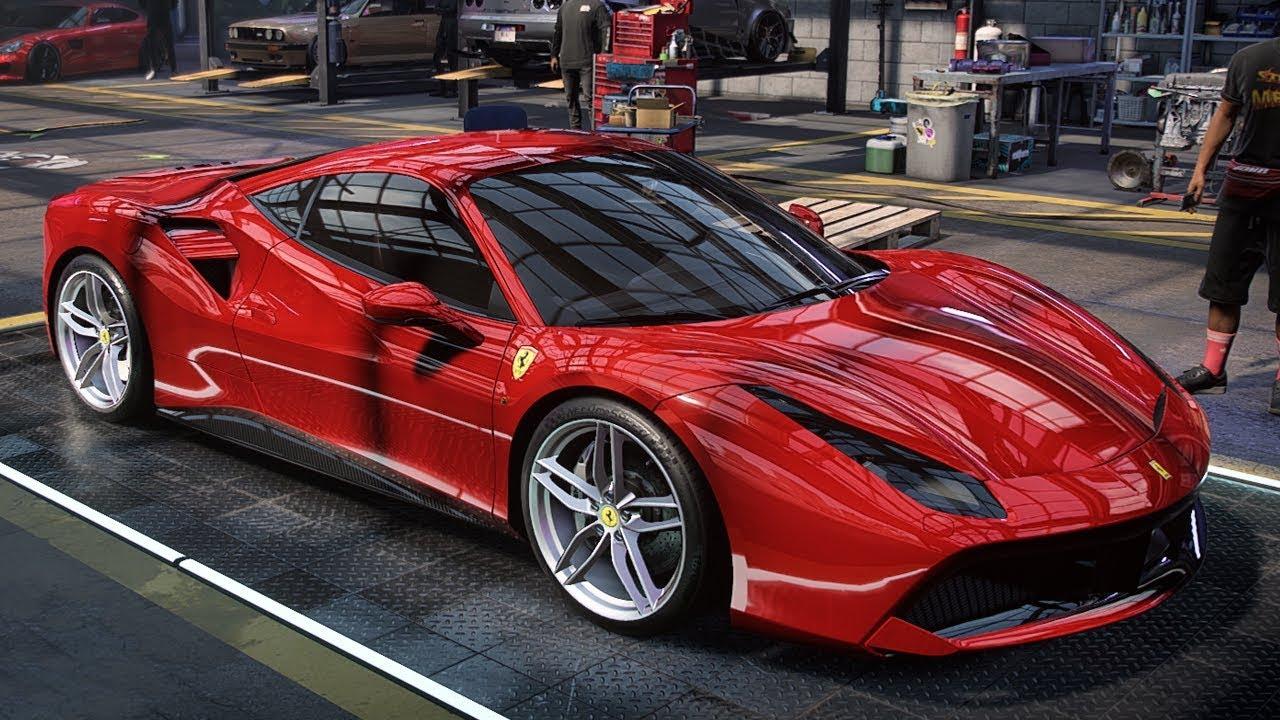 NFS HEAT , Ferrari 488 GTB customization and gameplay