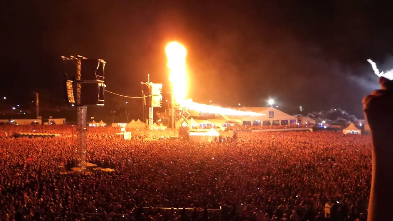 Rammstein - Festival dÉté de Québec, 2016-07-17, Du Hast