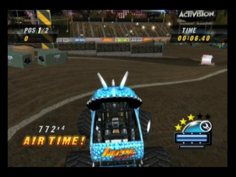 Monster Jam Urban Assault Monster Truck Video Game Racing Youtube