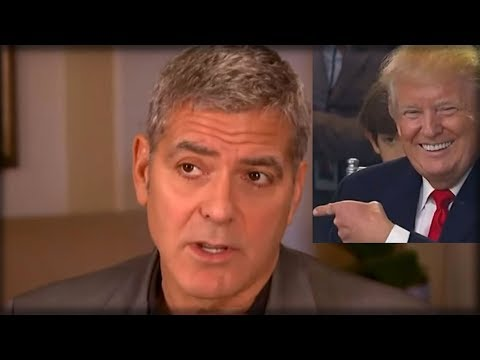 GEORGE CLOONEY STUNS LIBERALS, GIVES JAW DROPPING COMPLIMENT TO PRESIDENT TRUMP