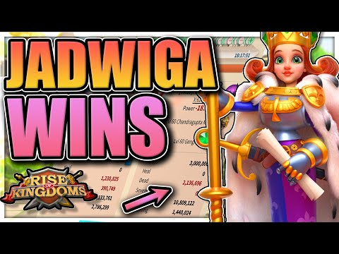 Jadwiga garrison shreds everything in Rise of Kingdoms [Can this combo be stopped?]