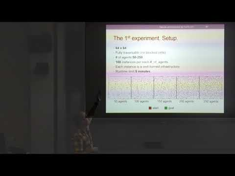 ICAPS 2017: Any-Angle Pathfinding For Multiple Agents Based On SIPP Algorithm