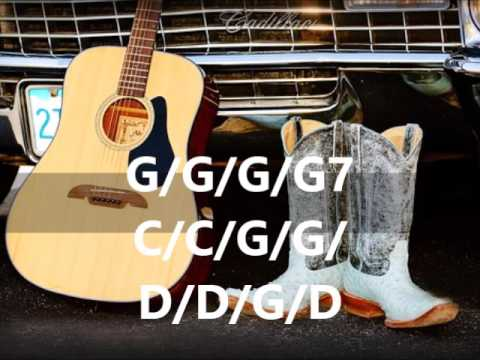 Country Backing track 120 BPM  G major