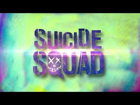 Suside squad movie font typographical by shadow creation