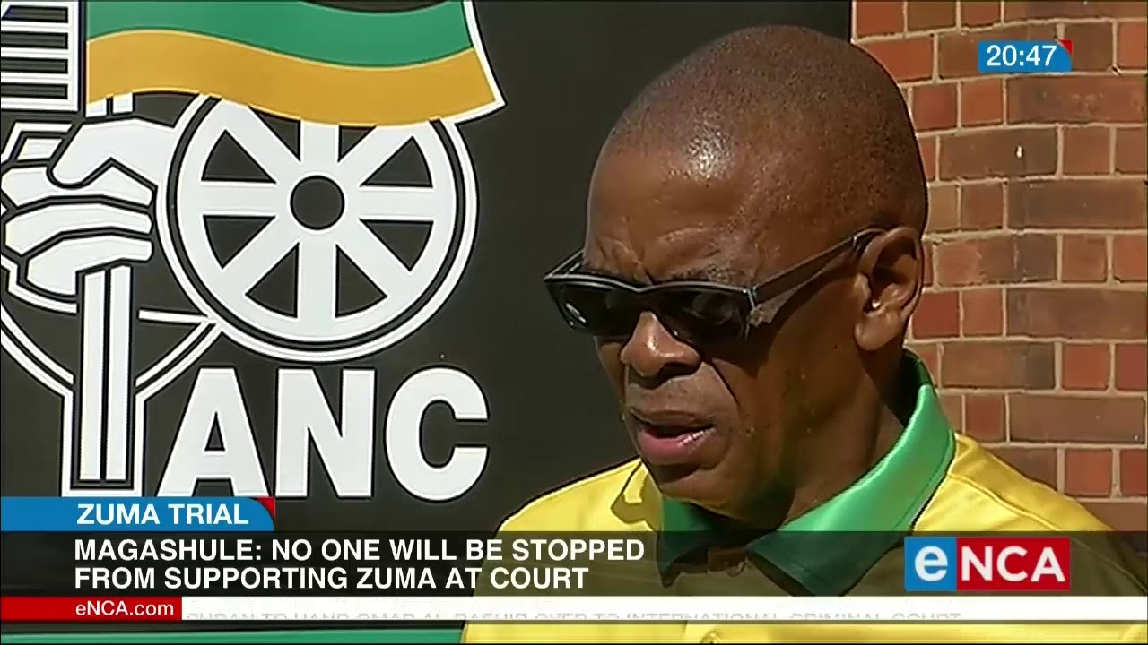 Magashule: No one will be stopped from supporting Zuma - eNCA