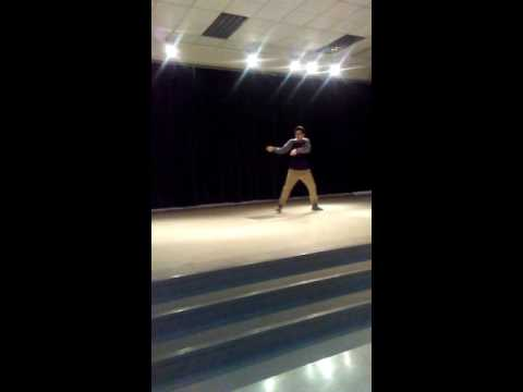 Cruz's Oak Creek West Middle School Talent Show!