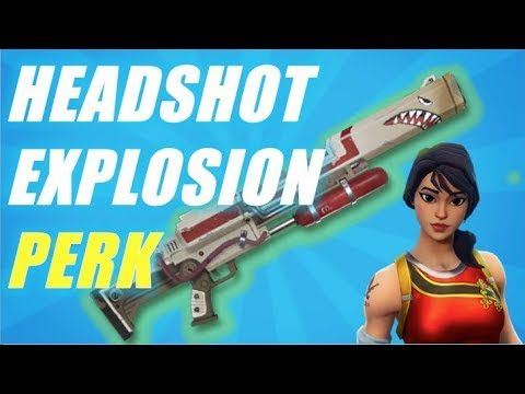 RePerk - Headshot Explosion Perk?