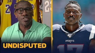 Tom Brady can't vouch for Antonio Brown, he's poisoned the water - Shannon Sharpe | NFL | UNDISPUTED