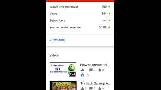 How to make money with YouTube videos in Android / IOS | monetise YouTube videos in Android / IOS