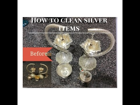 How To Clean Silver Pooja Items