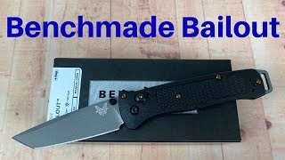 BENCHMADE BAILOUT 3V TOUGHNESS TEST!!