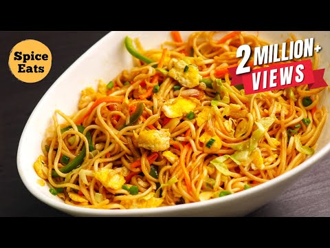 EGG NOODLES RECIPE | EGG CHOW MEIN RECIPE | EGG FRIED NOODLES RECIPE | EGG CHOWMEIN RECIPE
