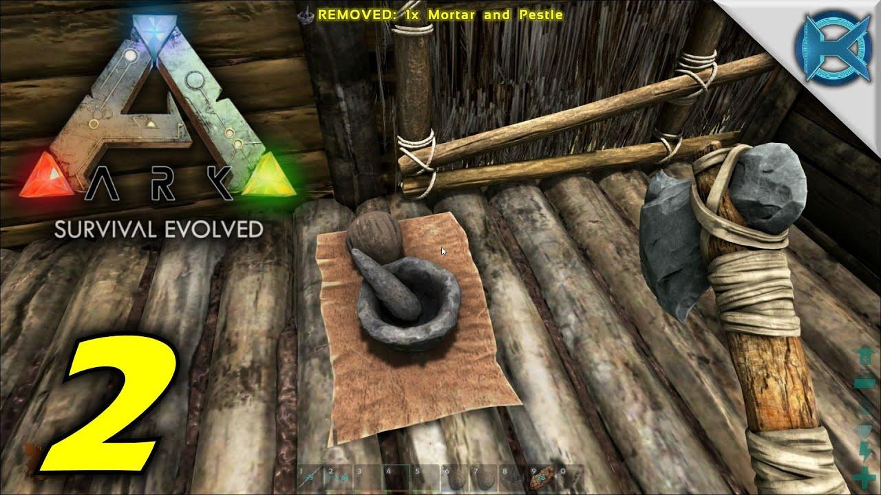 ARK: Survival Evolved Gameplay Part 9 - Parasaur Tamed