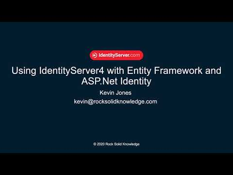 How to add ASP.NET Identity and Entity Framework Support for your IdentityServer4 Solution