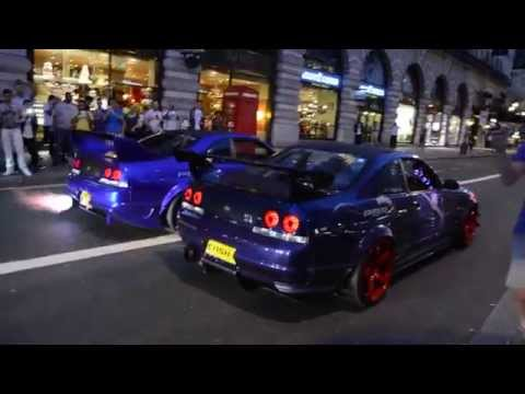 2 SKYLINE'S SPIT FLAMES | GUMBALL 3000 - 2014 streaming vf