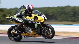 Riding the MotoAmerica Superbike Champ's Yamaha R1 | Onboard Video