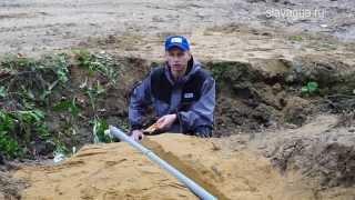 Как организовать канализацию загородного дома при высоких грунтовых водах на участке(Станции автономной канализации - http://teplostroy.su/stancii-yunilos/?from=youtube Рассказываем и показываем как организовать..., 2015-10-01T21:36:21.000Z)