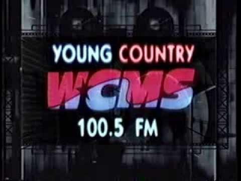 WCMS 100.5 Norfolk VA  1990s  TV Commercial