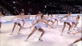 Highlight video made by the ISU to promote Synchronized Skating, di...