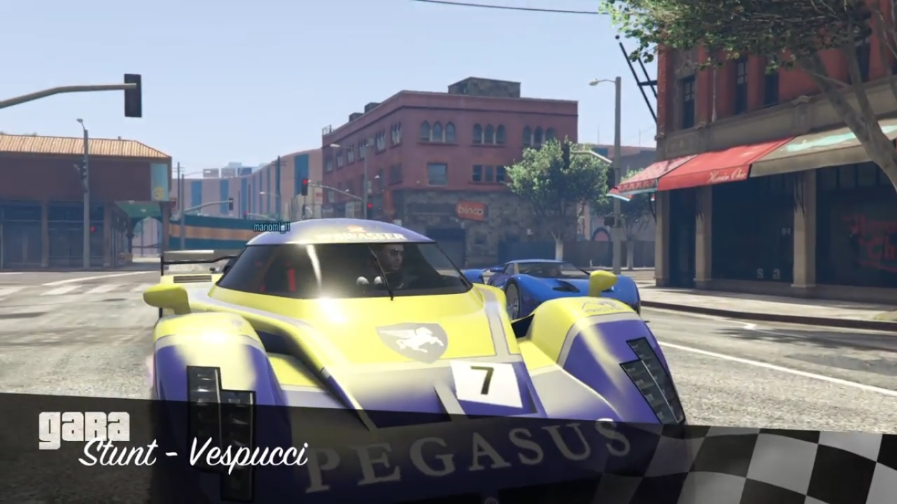 Gta  Race Gameplay For Background Free To Use