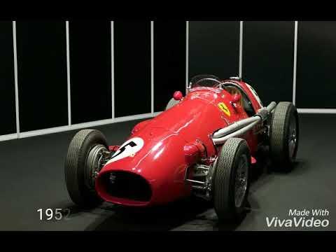 Ferrari All F1 Cars 1950 2018 Youtube