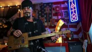 How to play Runaway Train Instructional cigar box guitar