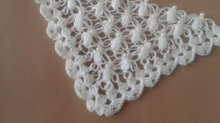 crochet chal shawl  with subtitles in several lenguage thumbnail
