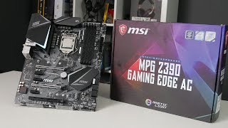 MSI MPG Z390 GAMING EDGE AC - TEST
