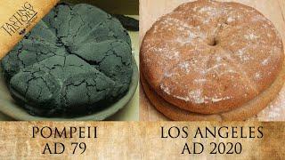 The Bread of ANCIENT ROME   Pompeii's Panis Quadratus