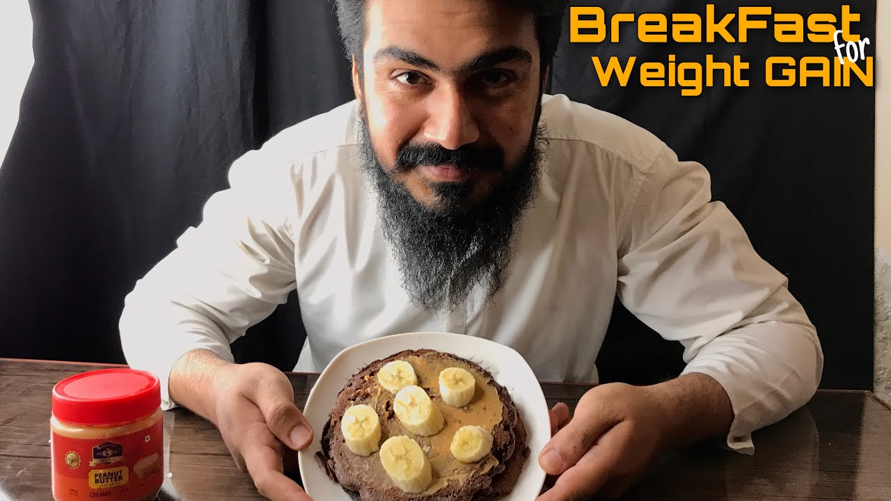 MOST DELICIOUS PANCAKE FOR WEIGHT GAIN - Healthy Breakfast