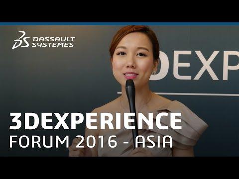 3DEXPERIENCE FORUM Asia Pacific South 2016 - Dassault Systèmes