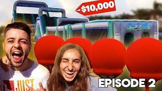 WORLDS FASTEST NINJA OBSTACLE COURSE, WINNER GETS $10,000! **Episode 2**