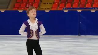 Arseny Fedotov, SP, 2018.10.16 «Мегаспорт» Москомспорта