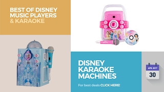 Disney Karaoke Machines Best Of Disney Music Players Karaoke
