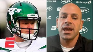 Jets coach Robert Saleh doesn't commit to Sam Darnold as New York's starting QB   Bart and Hahn