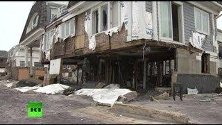 Власти США не спешат помогать жертвам «Сэнди»