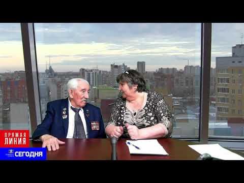 Участник ВОВ Юрий Маркович Луковский делится своими воспоминаниями с Людмилой Шороховой