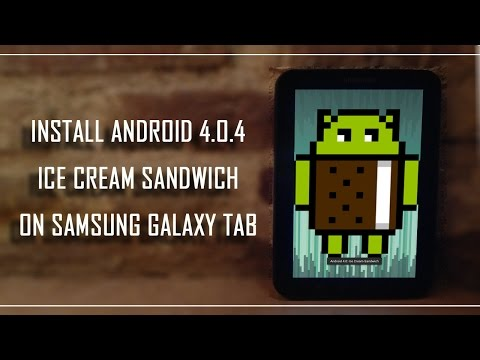 Install Android 4.0.4 STABLE On Gtp-1000 Samsung Galaxy Tab