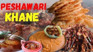 Peshawari khane   Peshawari foods   Street food in Peshawar