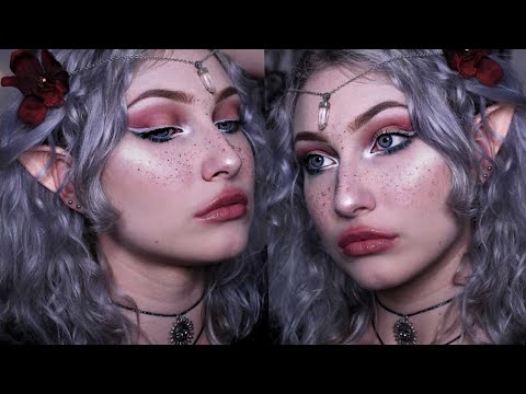 FOREST ELF // 🌹 makeup tutorial 🌹