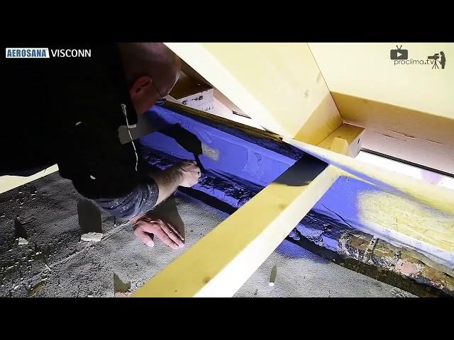 Aerosana Visconn - natryskiwana izolacja powietrznoszczelna