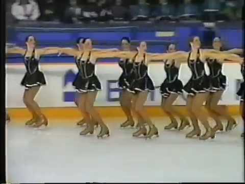 Synchronized Skating Junior Short Championship 1998